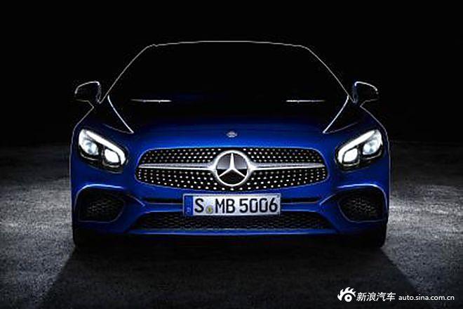 奔驰发布新款SL预告图