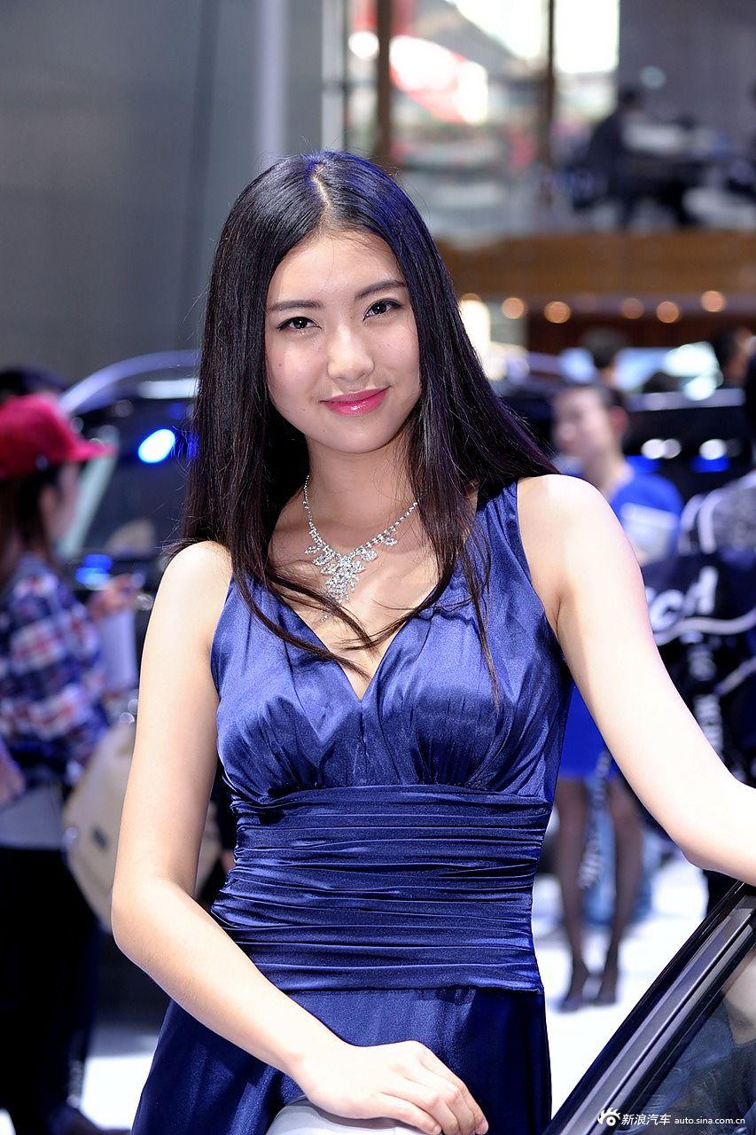 2014广州车展高清模特图精选