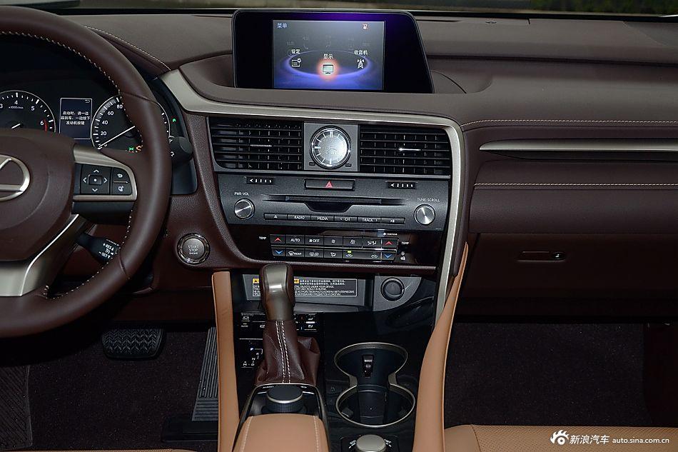 2016款雷克萨斯RX 2.0T自动200t四驱典雅版