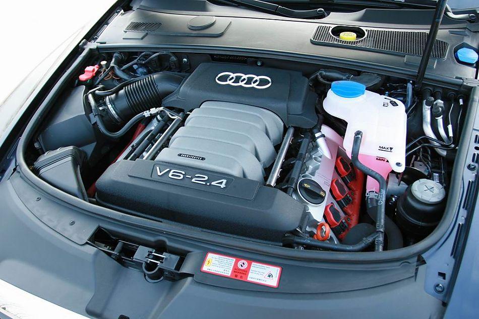 奥迪a6l引擎底盘图片118655 汽车图库 新浪汽车 -09款全新奥迪A6L高清图片