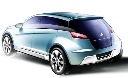 三菱概念车Concept cX法兰克福车展亮相高清图片