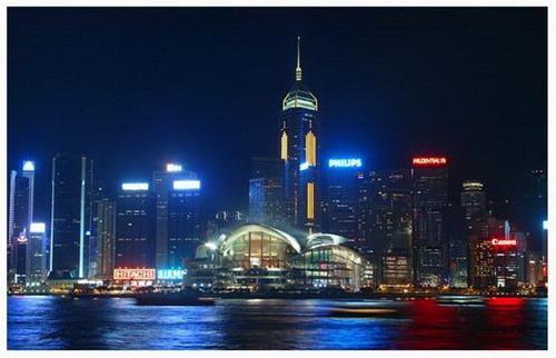 香港 东方明珠 回归十载图片