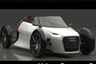 视频:Audi Urban Spyder 概念车静态