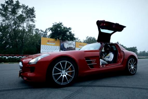 视频:汽车测试B计划之SLS AMG 数据测试