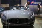 视频:玛莎拉蒂GranCabrio-北京车展高清实拍