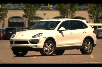 视频:2011款保时捷卡宴S混动试驾