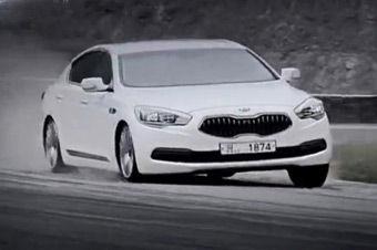 视频:韩国版TOP GEAR试驾起亚K9