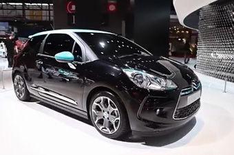 视频:DS3电动版巴黎车展高清实拍
