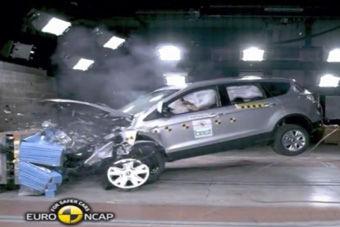 视频:2013款福特翼虎海外碰撞测试