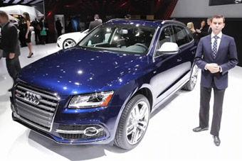 视频:2014款奥迪SQ5发布 亮相北美国际车展