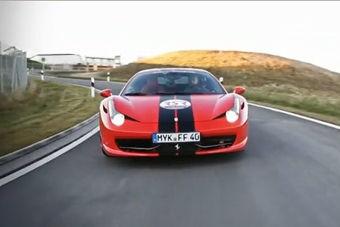 视频:准备起飞!法拉利458 Italia狂飙341