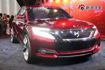 视频:上海车展长安雪铁龙DS概念车