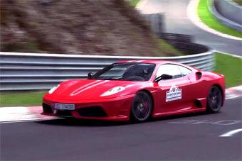 视频:实拍法拉利430赛道狂飙迷人声浪