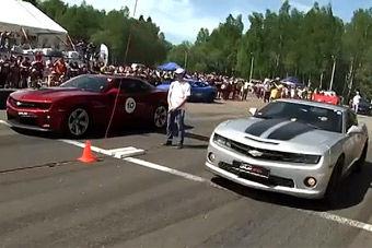 视频:各大超跑直线加速赛精彩现场