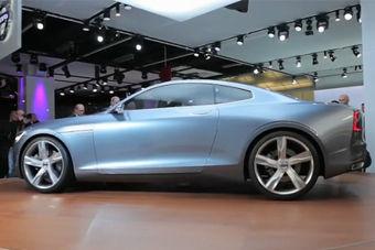 视频:法兰克福车展沃尔沃Coupe概念车