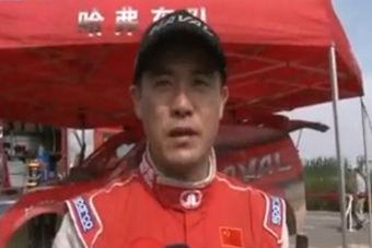 视频:CGR第一赛段战河滩 周勇暂列第一