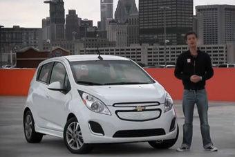 视频:雪佛兰SPARK EV 纯电动车测试讲解