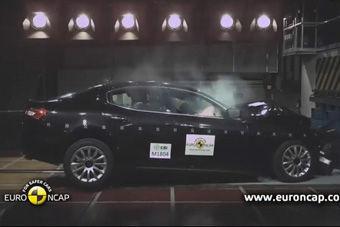 视频:玛莎拉蒂 Ghibli海外安全碰撞测试