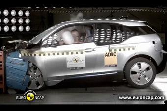视频:宝马i3 欧洲E-NCAP碰撞测试获四星成绩
