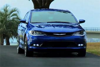 视频:2015款克莱斯勒200 北美车展首发