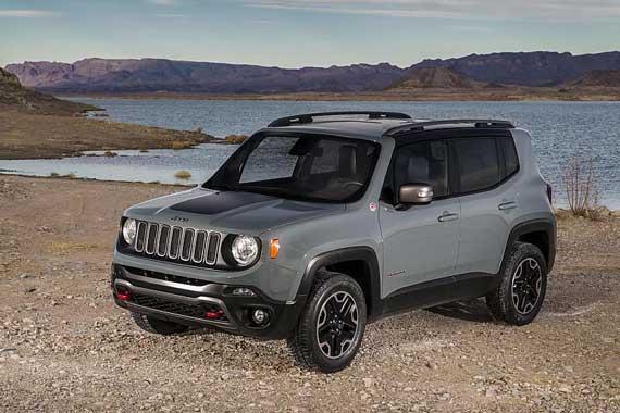 视频:Jeep全新小型SUV Renegade(自由侠)