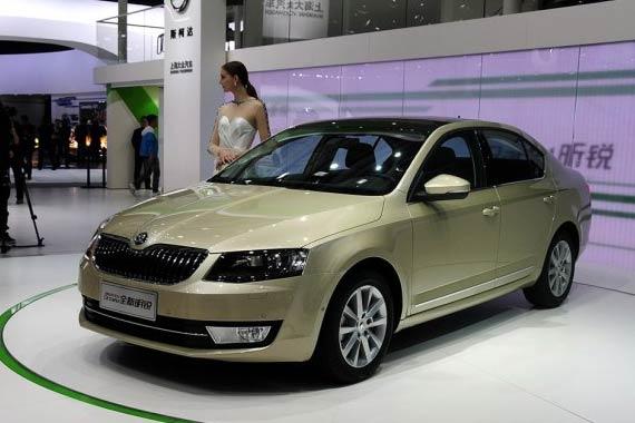 视频:2014北京车展必看车型之全新明锐