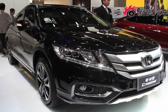 视频:2014北京车展热点新车之本田歌诗图