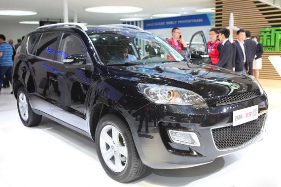 视频:2014北京车展热点SUV之吉利GX9