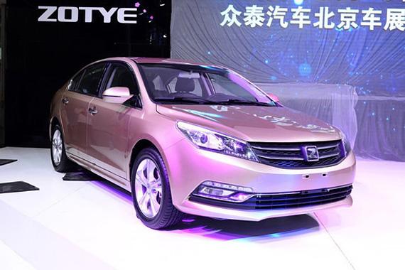 视频:2014北京车展热点新车之众泰Z500