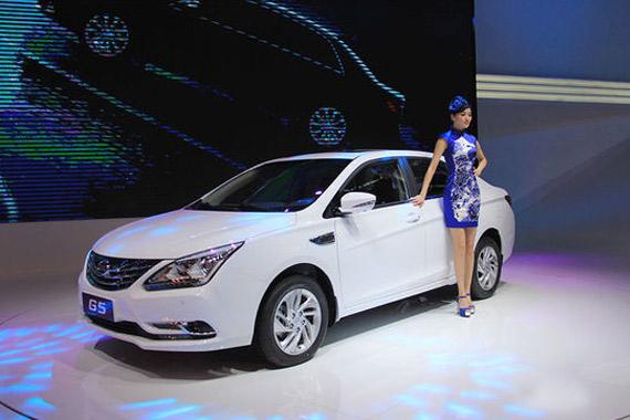 视频:2014北京车展热点新车之比亚迪G5