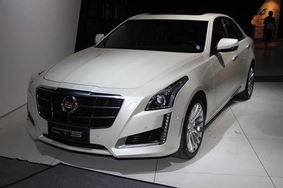 视频:2014北京车展必看车型之凯迪拉克CTS