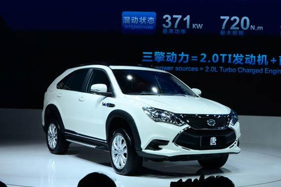 视频:2014北京车展必看车型之比亚迪唐