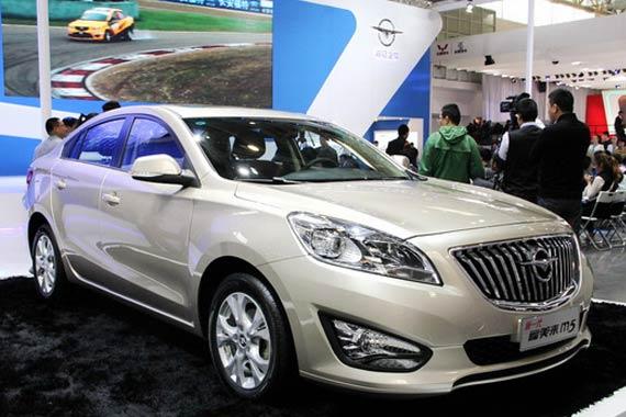 视频:2014北京车展热点新车之福美来M5