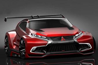 视频:三菱发布XR-PHEV Evolution Vision Gran Turismo概念车
