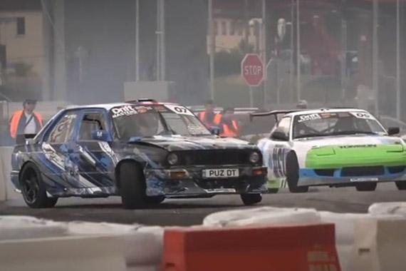 视频:热血沸腾 漂移大师大奖赛火爆现场