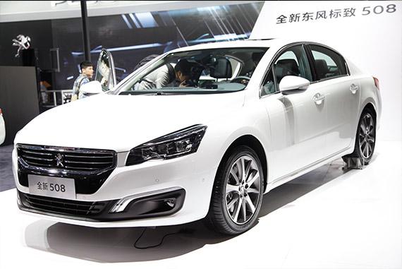 视频:2014广州车展必看车型之东风标致508