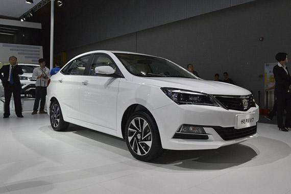 视频:2014广州车展热点新车之长安悦翔V7