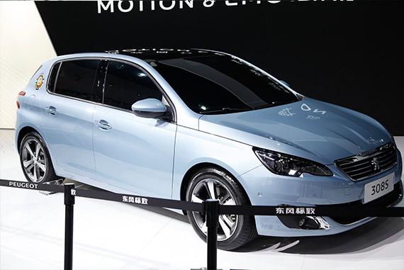 视频:2014广州车展必看车型之东风标致308S