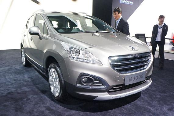 视频:2014广州车展热点新车之标致3008
