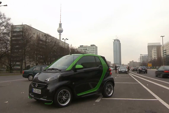 视频:大才小用 Smart BRABUS电驱小车