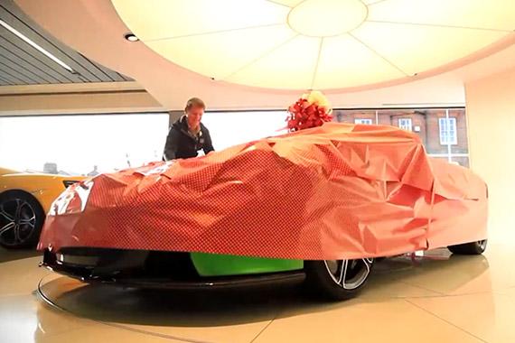 视频:来自迈凯轮的圣诞礼物——650S Spider