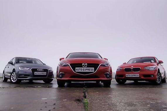 视频:三款紧凑型热门小车综合大PK(译制)
