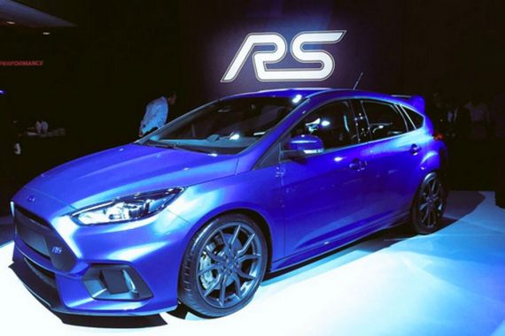 视频:全新福特福克斯RS日内瓦车展首发