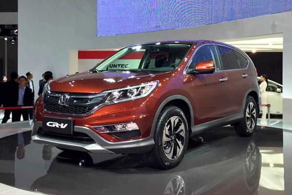 视频:2015上海车展必看车型之本田CR-V