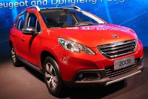 视频:2015上海车展热点新车之标致 2008