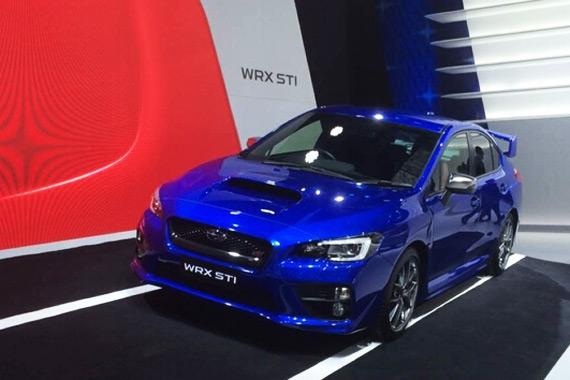 视频:2015上海车展热点新车斯巴鲁WRX STI