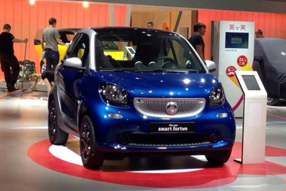 视频:2015上海车展热点新车smart fortwo