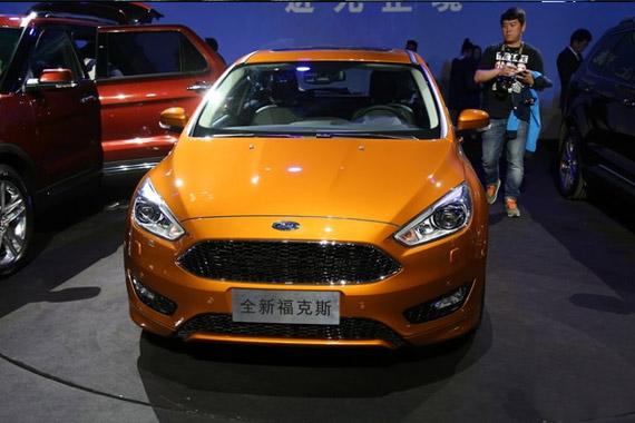 视频:2015上海车展必看车型之福特福克斯