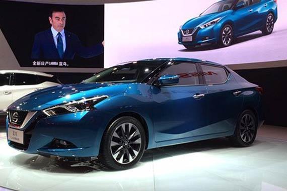 视频:2015上海车展必看车型日产蓝鸟