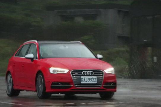 视频:百公里加速5.4秒 GO车志试驾奥迪S3